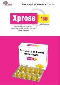Xprose 1000  (Soft Gelatin Capsule)