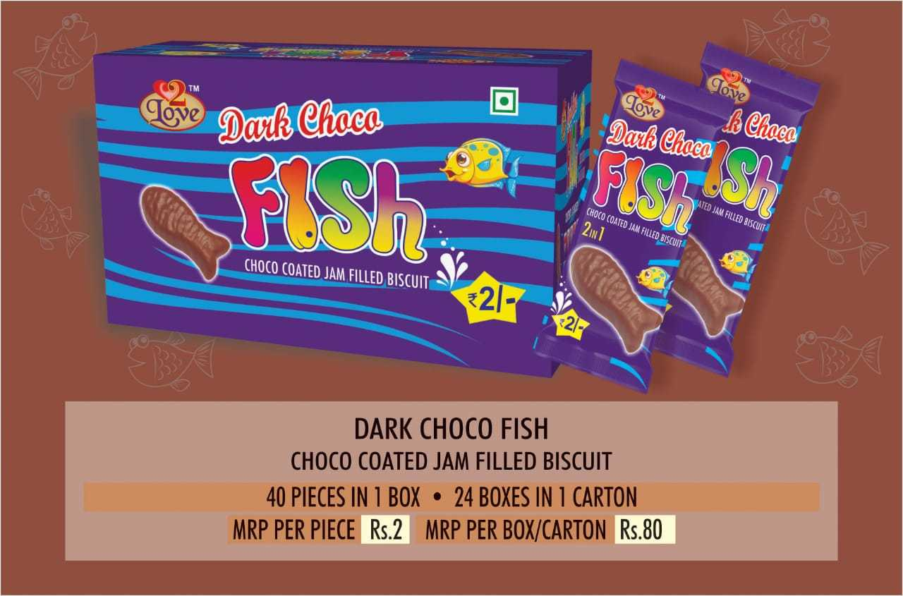 Choco Coated Jam Filled Biscuit