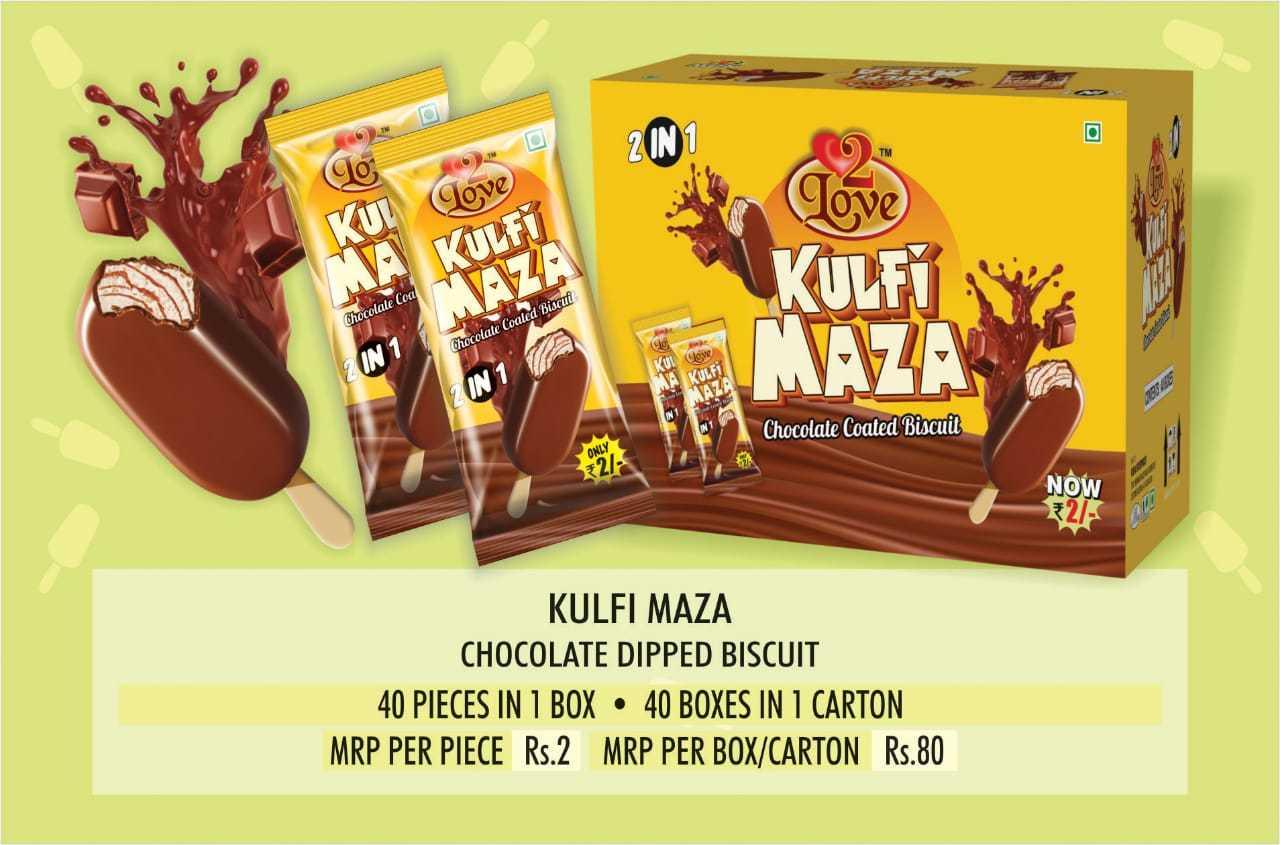 Kulfi Maza Chocolate Coated Biscuit