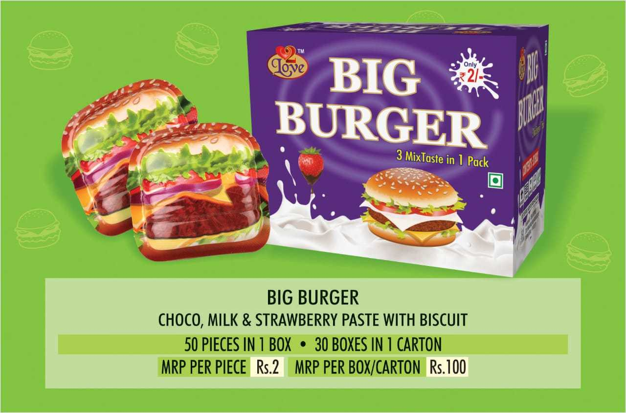 Big Burger Flavour Biscuit