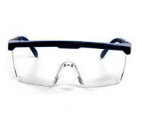 Clear Safety goggle