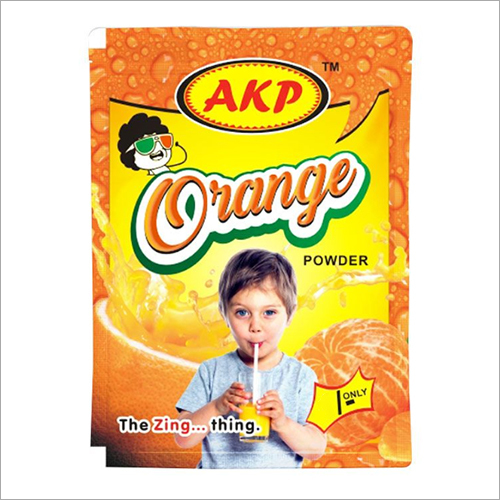 Orange Flavoured Powder