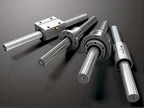 Heavy Duty Hydraulic Machine L.M. Bearing Shaft