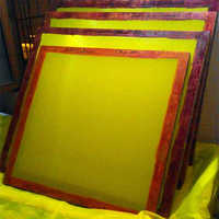 Screen Printing Frames Stretching