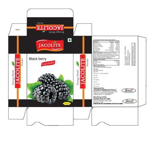 Jacolite Balck Berry Flavor Energy Drink Powder