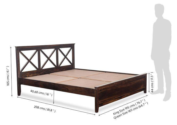 Solid wood bed Crossfit