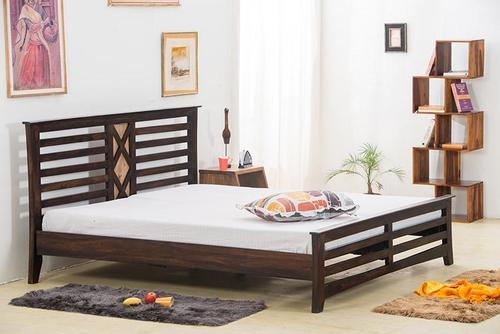 Solid wood Double bed Charmer
