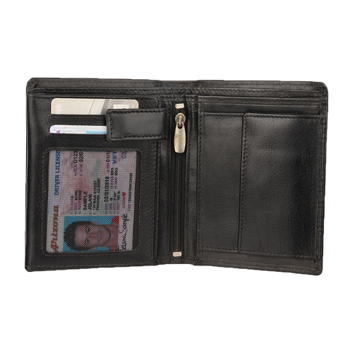 Genuine Leather Card Wallet