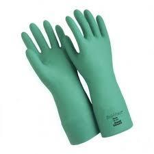 NITRILE HAND GLOVES-FLOCKLINED