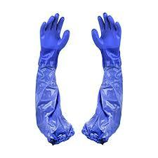 PVC HAND GLOVE (DOIBLE DIPPED)