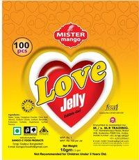LOVE JELLY 100 PCS X 15 JAR