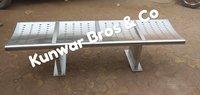 3seater stainless steel railway platform bench