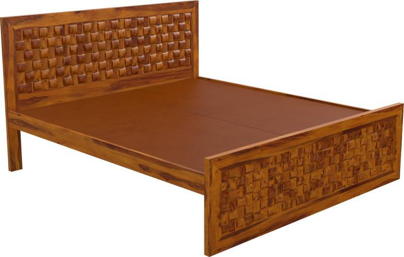 solid wood double bed Bambo