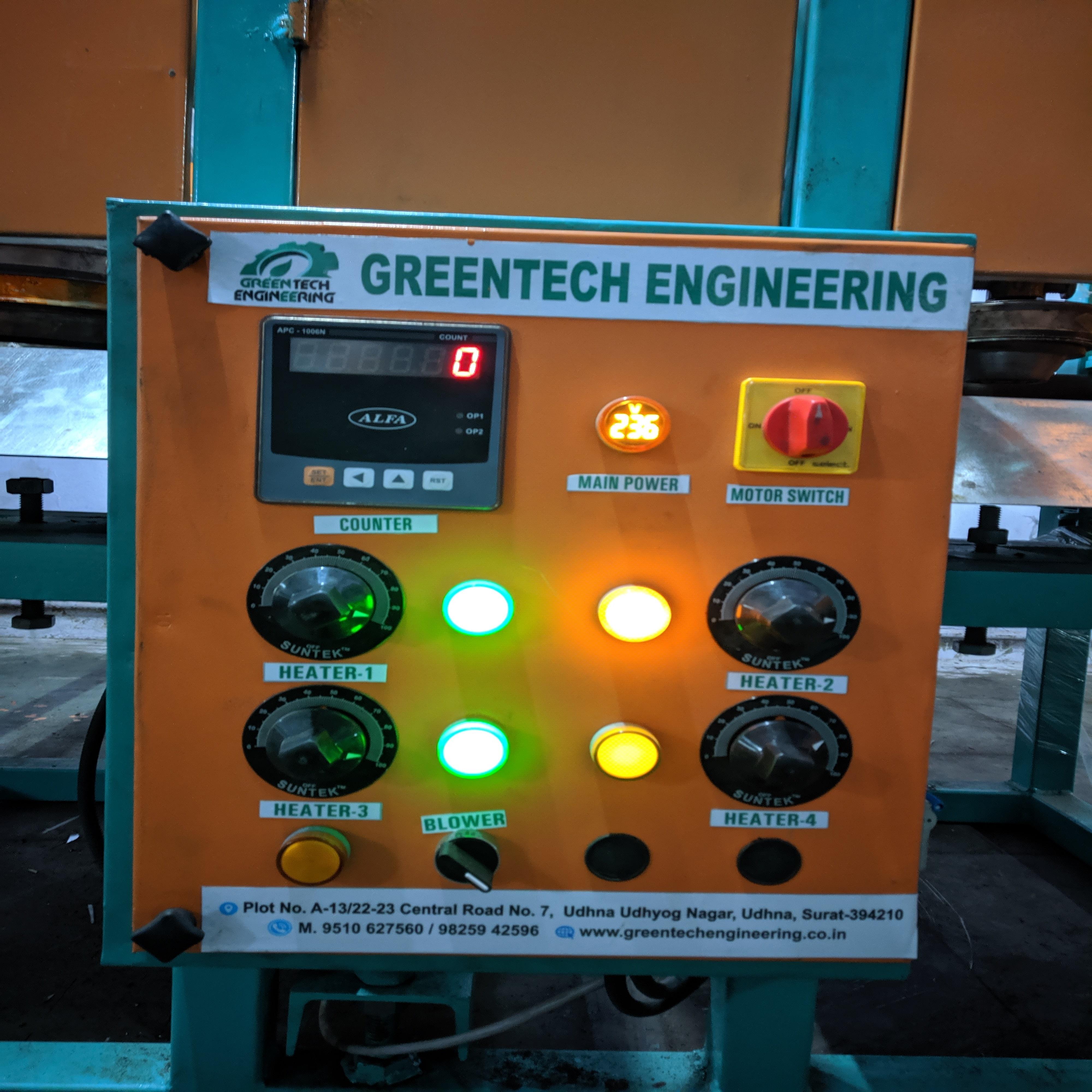 Multipurpose Dona and Thali Making Machine