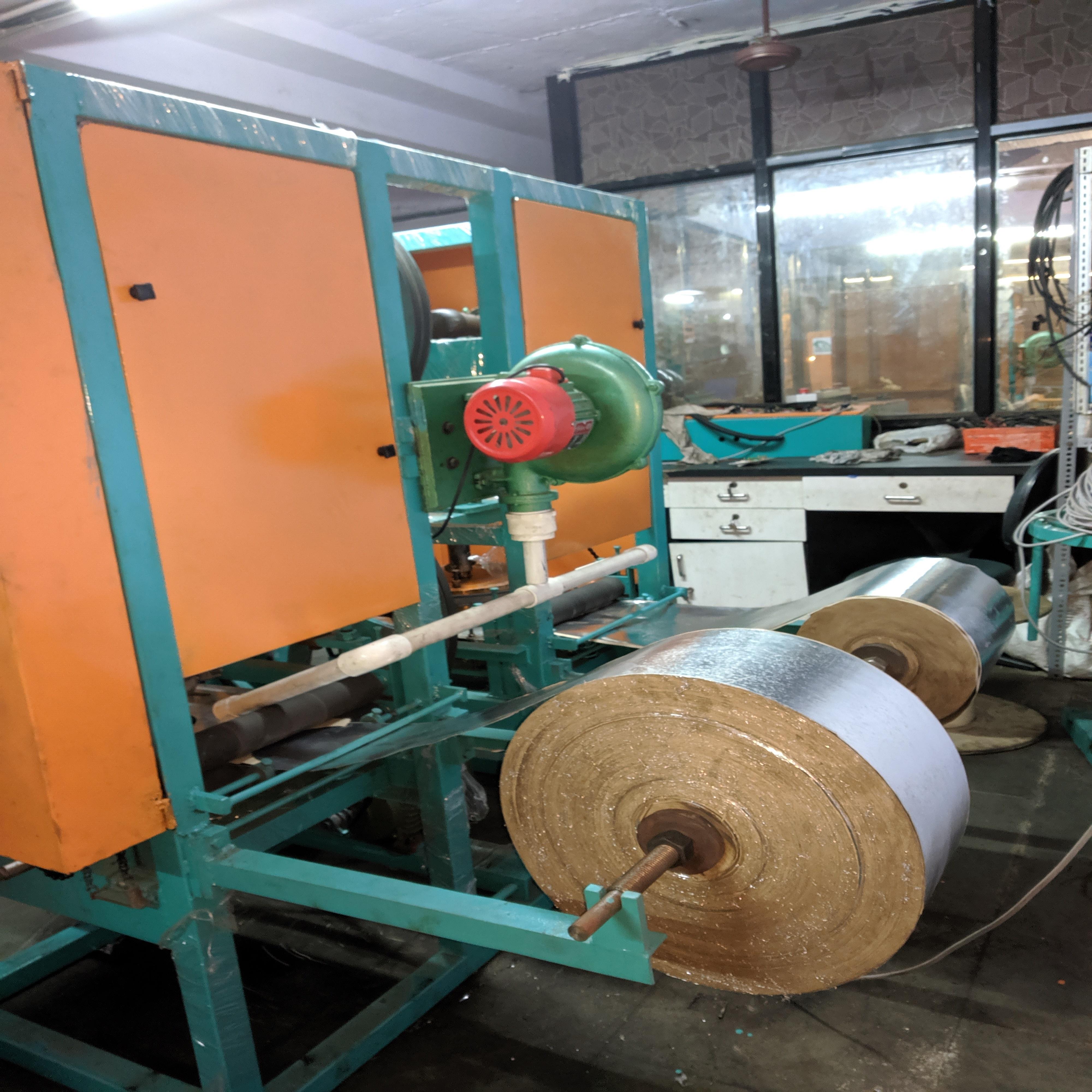 Double Die Dona Pattal Making Machine