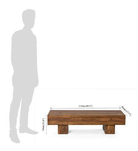 Solid wood Center Coffee table Aspire