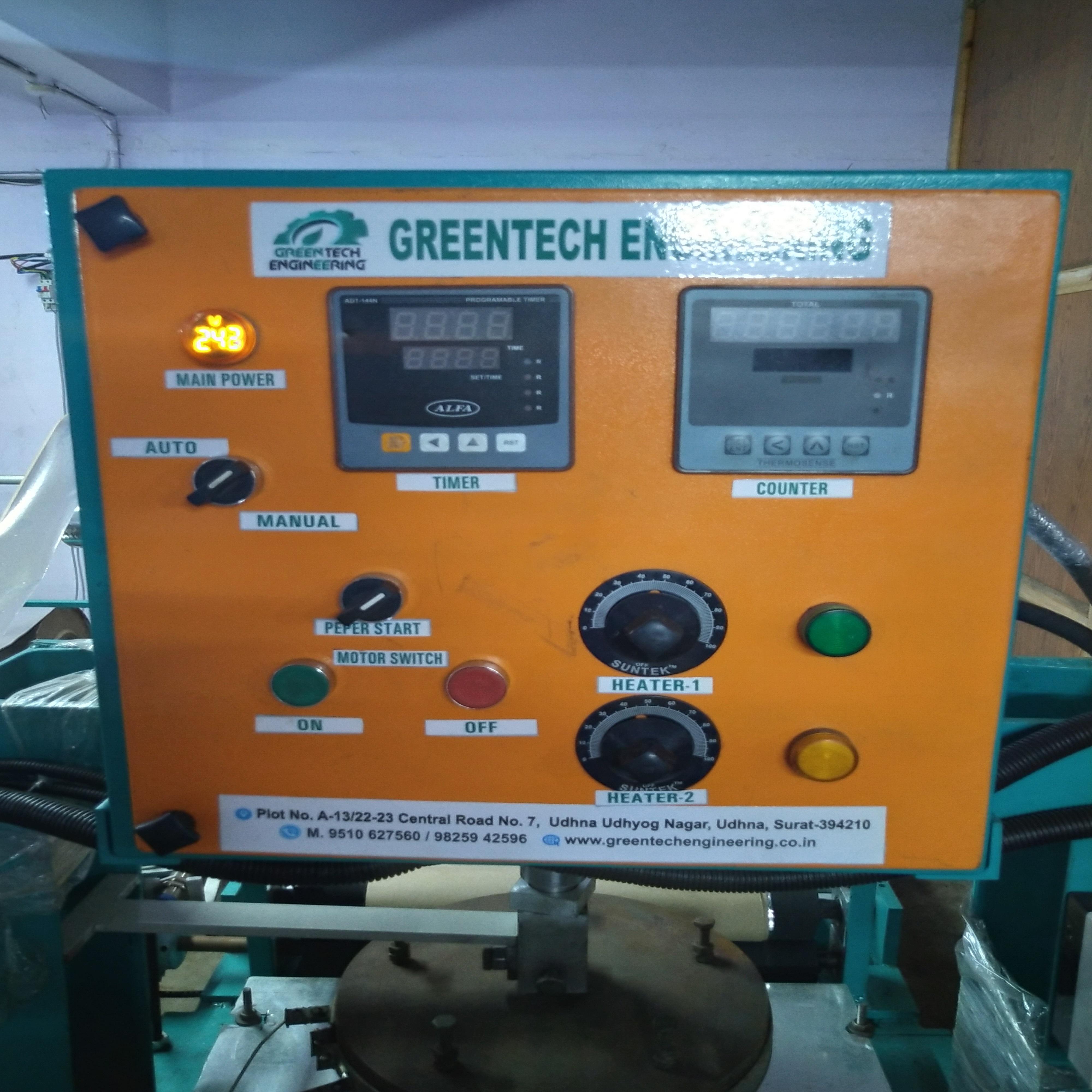 Multipurpose Hydraulic Dona and Plate Making Machine