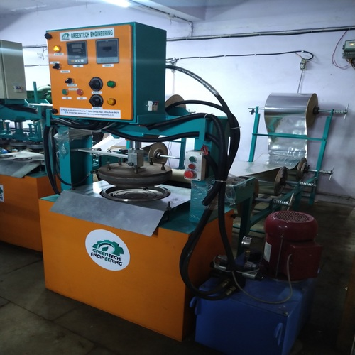 Hydraulic Dona Pattal Making Machine