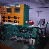 Hydraulic Dona Pattal Making Machine
