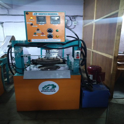 Hydraulic Patravali Making Machine