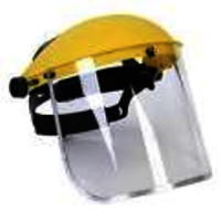 safety helmt with face shield