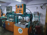 Fully Automatic Hydraulic Dona Pattal Making Machine