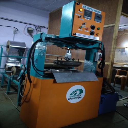 Paper Thali Machine