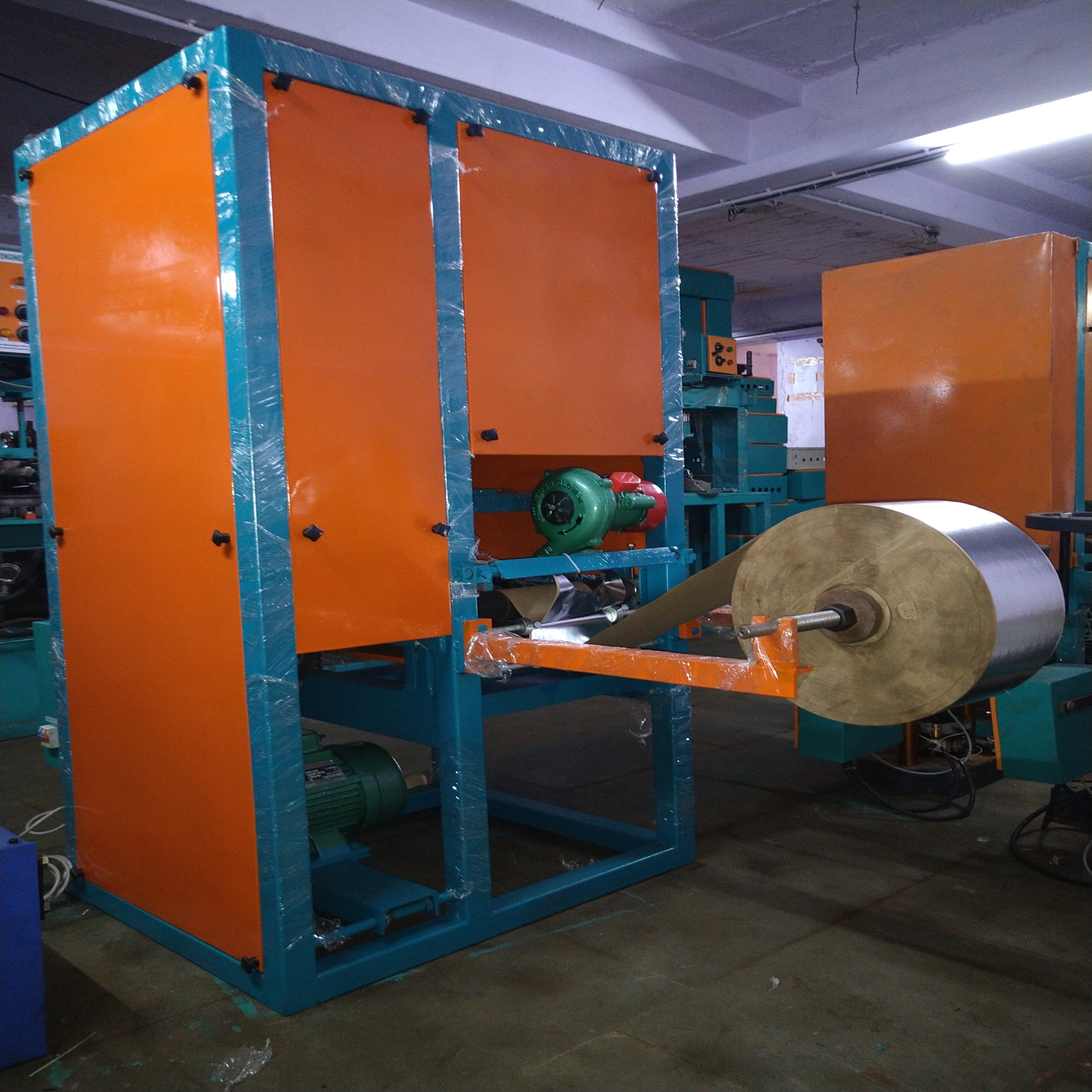Fully Automatic Fancy Paper Plate Making Machine