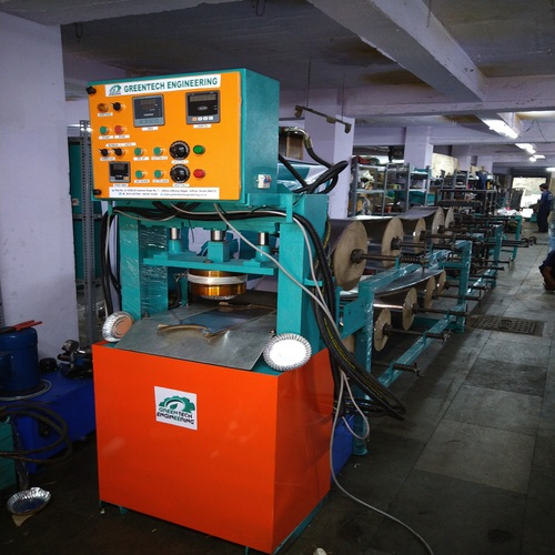 Fully Automatic Hydraulic Paper Dish Making Machine