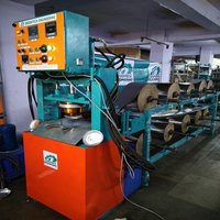 Fully Automatic Six Roll Paper Plate Making Machine