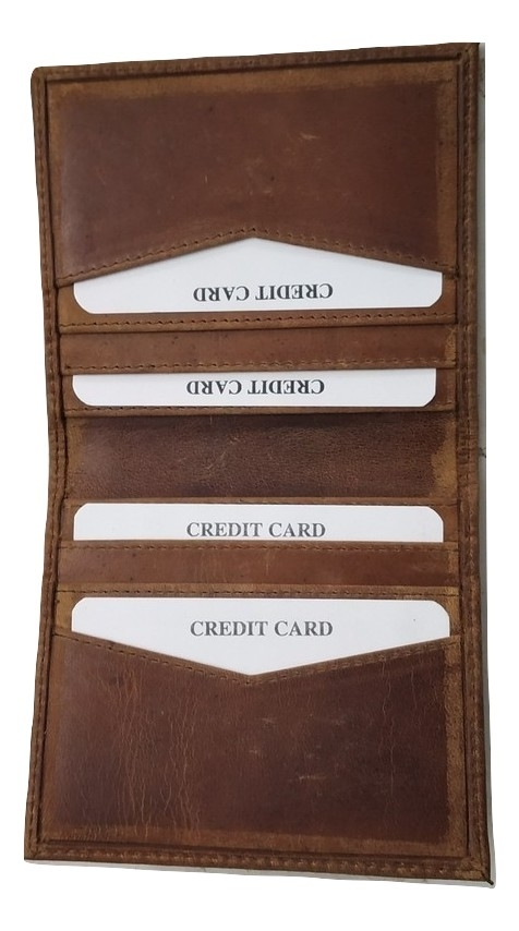 Genuine Leather Credit Card Holder Wallet