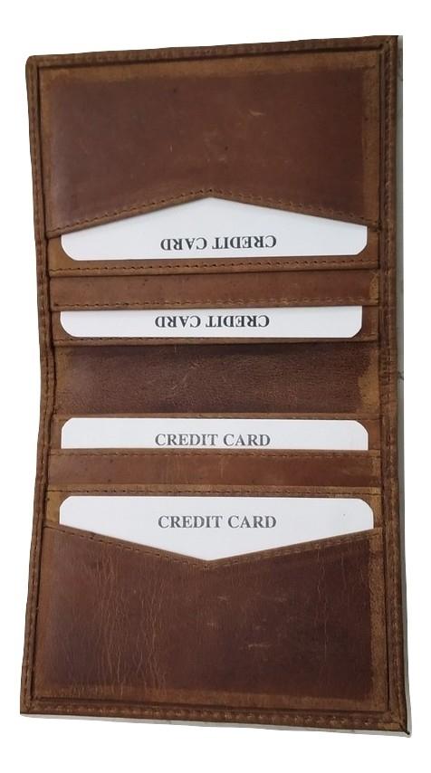 Genuine Leather Credit Card Holder Wallet
