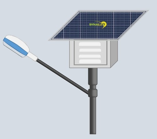 900-2000 Lumens Fully Automatic All-In-One LED Solar Outdoor Solar Street Light