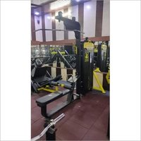 Lat Pulldown With Seated Row Machine