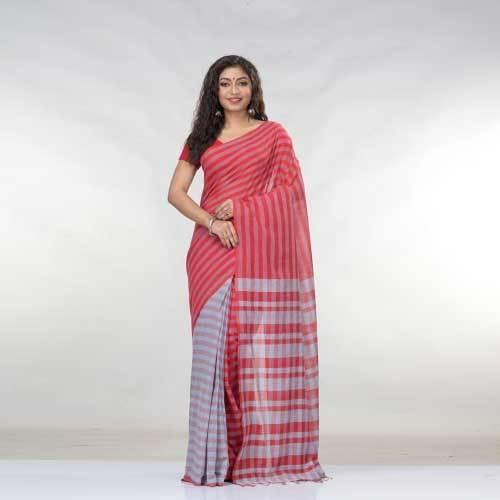 Ladies Banarasi Cotton Saree