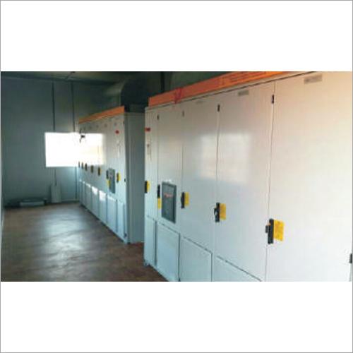 Solar Power Plant Invertor Cabin