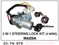 3 In 1 Steering Lock Kit 5 Wire (Mazda)