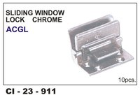 Sliding Window Lock Chrome