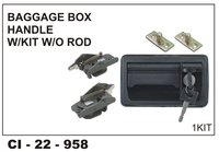 Baggage Box Handle W/Kit W/O Rod
