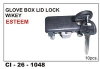 Glove Box Lid Lock W/Key Esteem