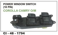 Power Window Switch (18 Pin) Corolla Camry O/M