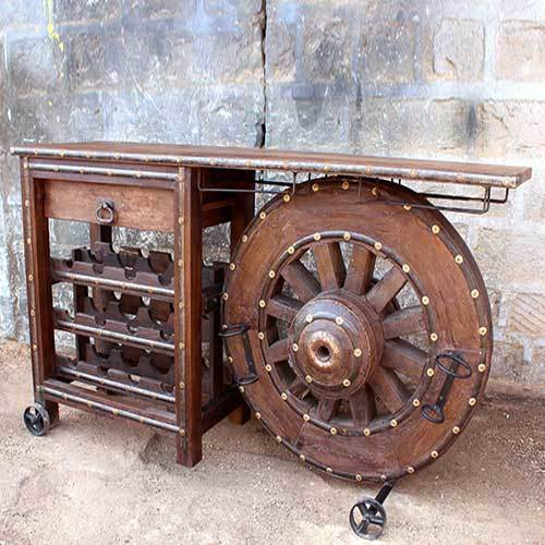 Antique Wine Rack