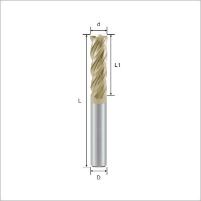 Long Flute Square Solid Carbide Endmills