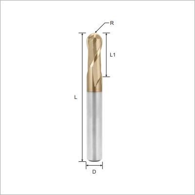 High Precision Ball Nose Solid Carbide Endmills