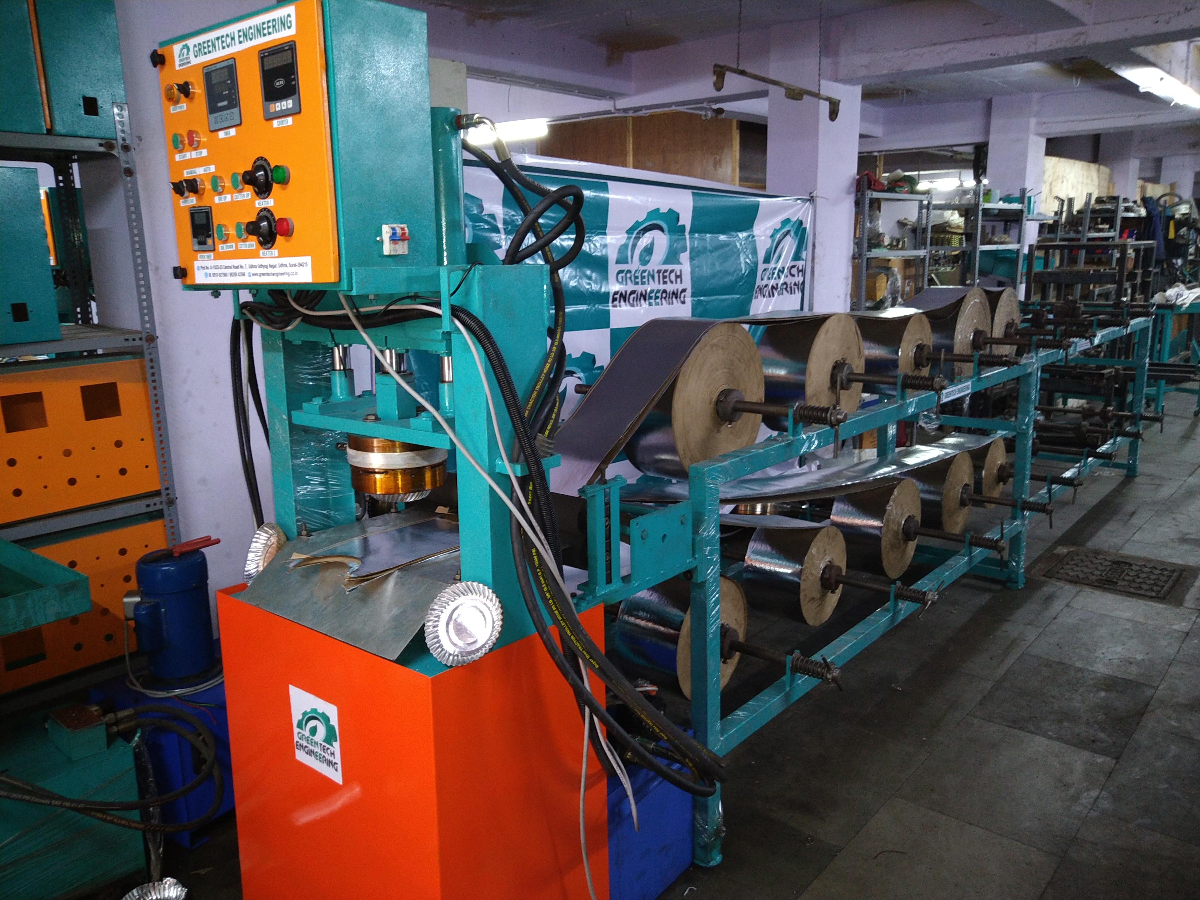Fully Automatic Multipurpose Paper Plate Making Machine