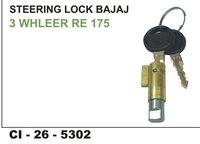 Steering Lock Bajaj 3 Wheeler Re 175