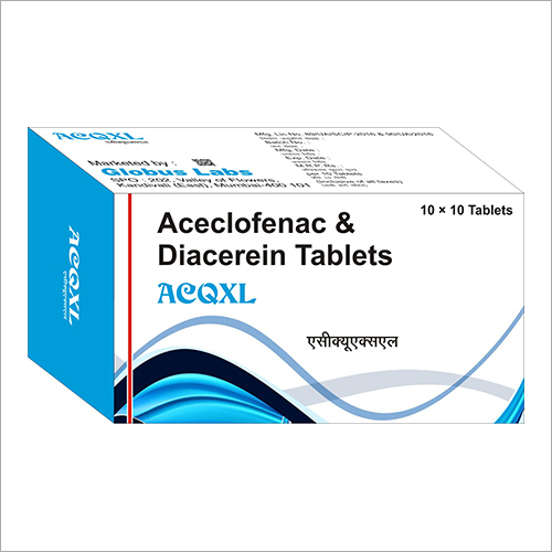 Aceclofenac And Diacerein tablet