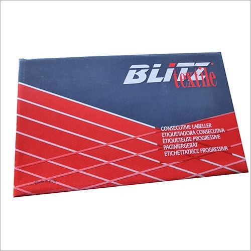 Blitz Textile Numbering Machine