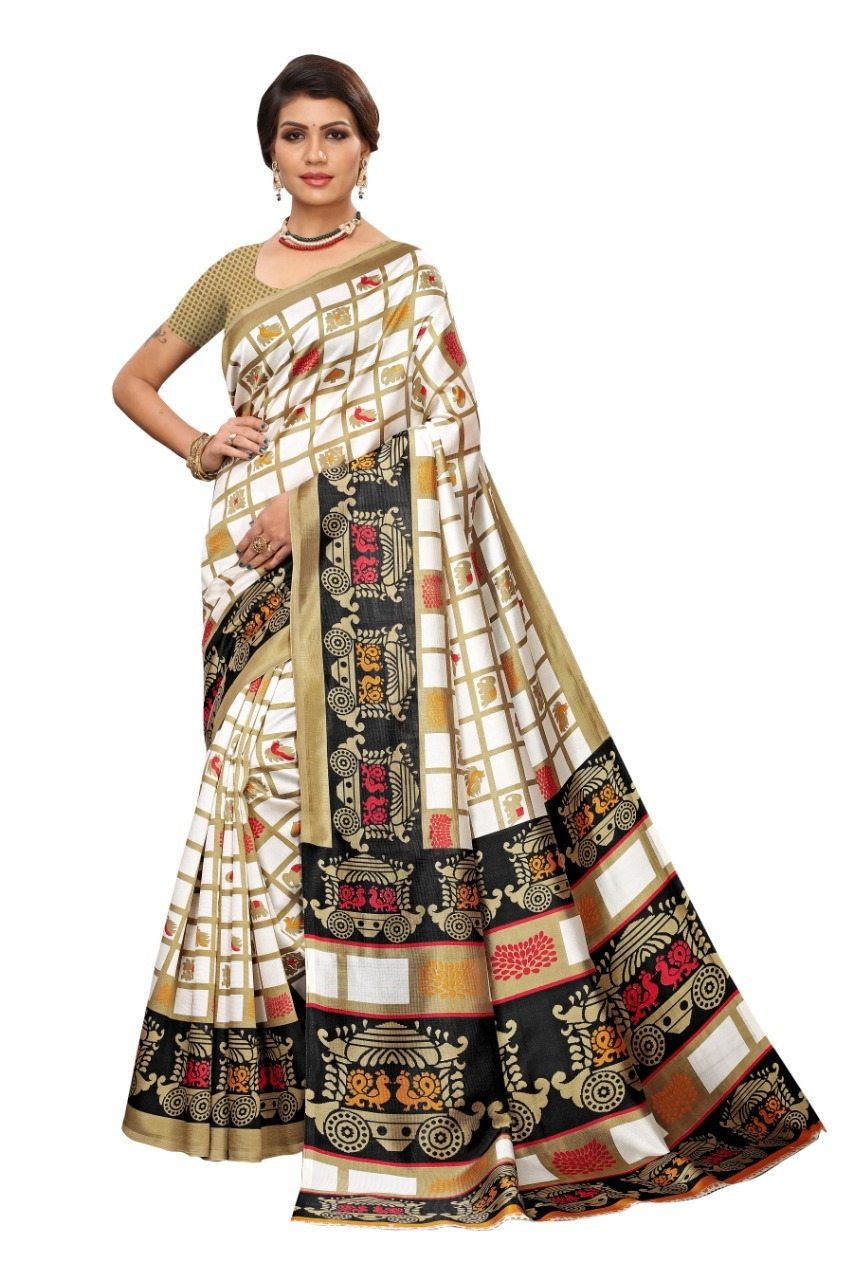 Designer art silk saree
