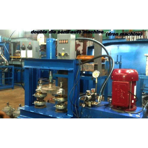 Double Die Semi Auto Dona Making Machine